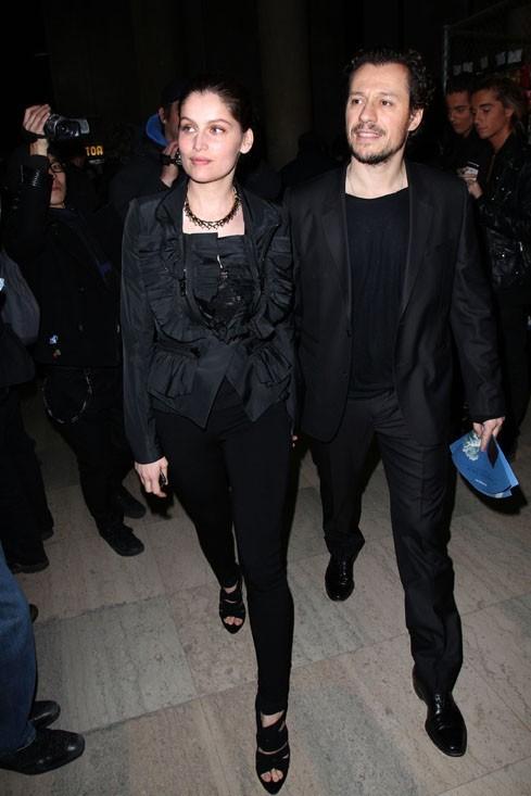 Habillés pareil pour le défilé Givenchy...