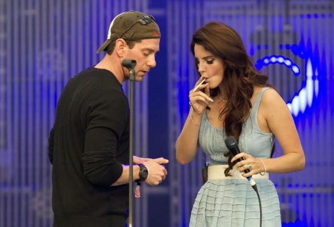 Lana Del Rey le 15 juillet 2012 au Melt Music Festival en Allemagne