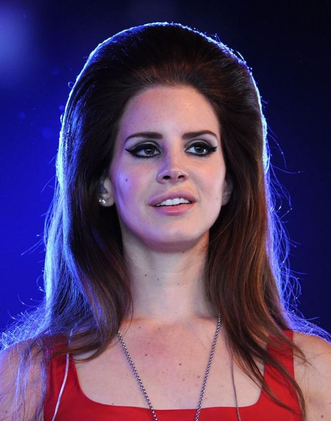 Lana Del Rey au festival d'Hackney le 24 juin 2012