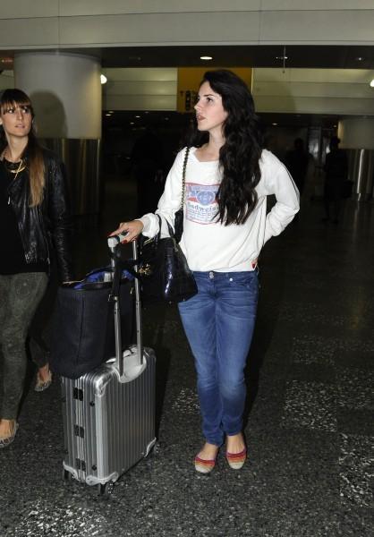 Lana Del Rey, Londres, 13 septembre 2012.