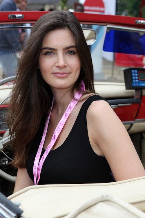 Lara Micheli au rallye des princesses