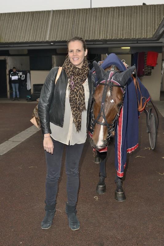 Laure Manaudou à l'Hippodrome de Vincennes