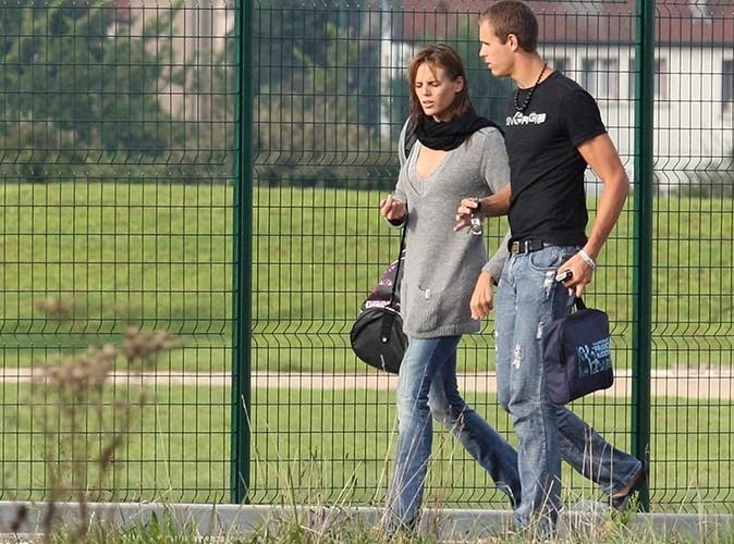 Après sa rupture avec son club italien, Nicolas Manaudou, son frère ainé, devient son entraîneur. Ici à Ambérieu en septembre 2007.