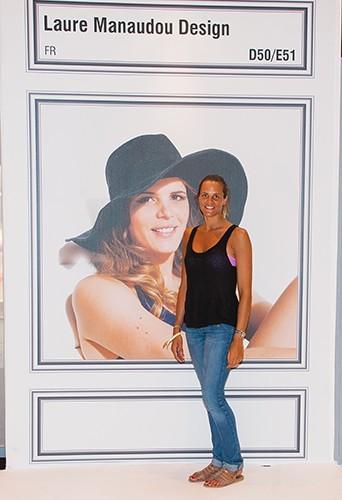 Laure Manaudou à Paris le 6 juillet 2013