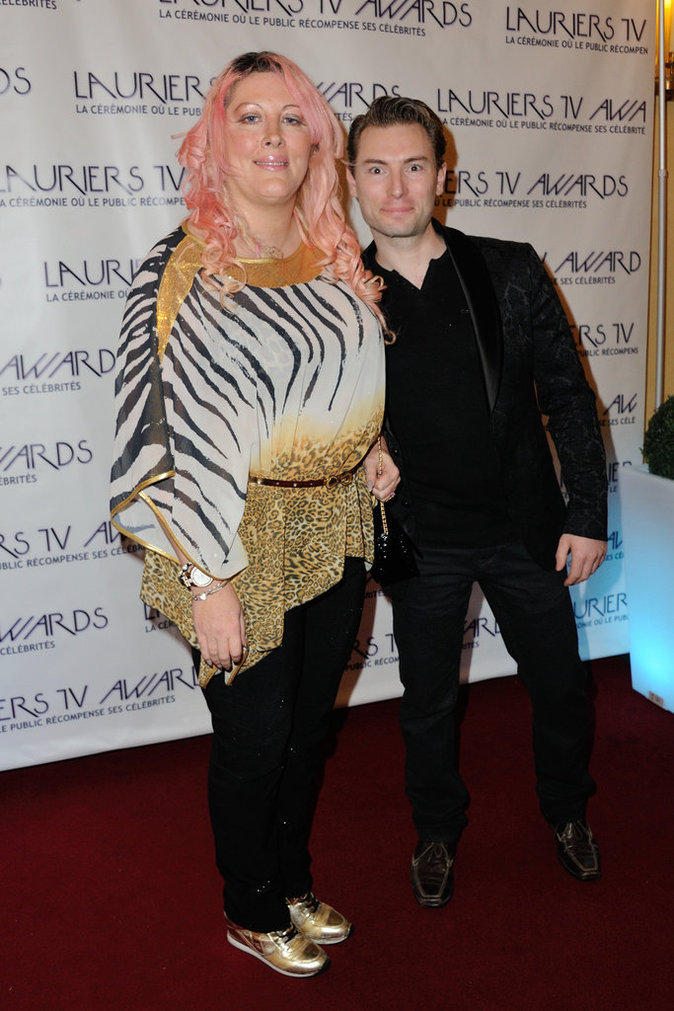 Photos : Lauriers TV Awards 2016 : Massimo Gargia rend hommage à Loana !