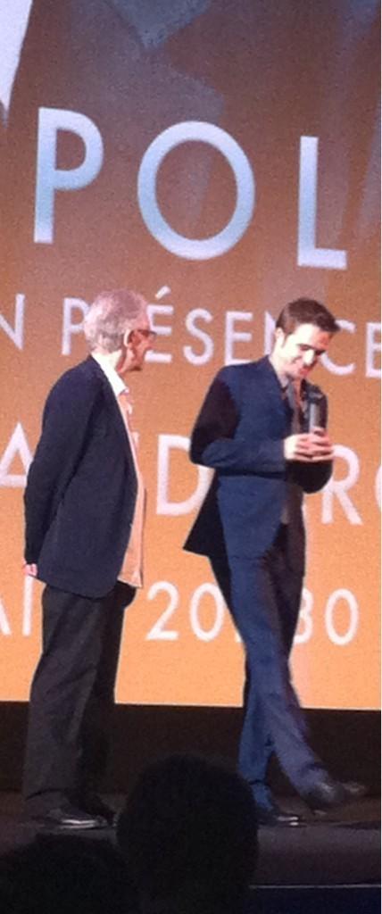 Robert sur scène
