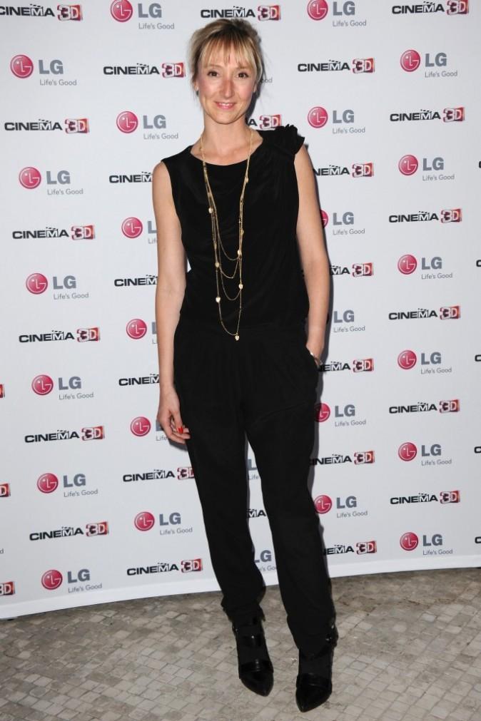 Audrey Lamy lors de la soirée LG à Paris, le 21 avril 2011.
