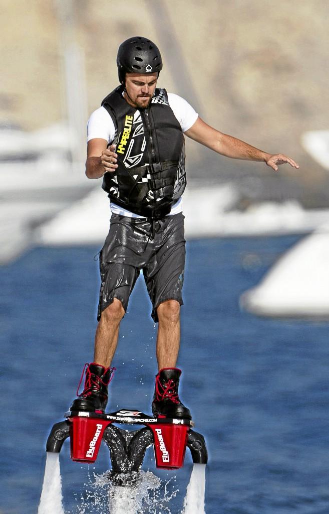 Leonardo DiCaprio : Il met le turbo !