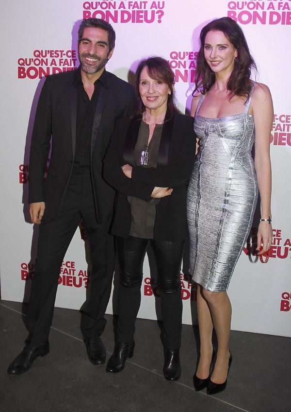 Chantal Lauby, Ary Abittan et Frédérique Bel