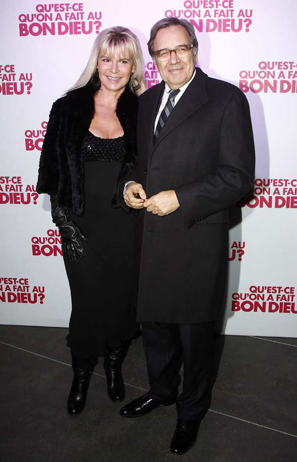 Nonce Paolini et sa femme