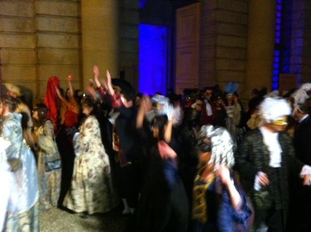 Le Grand Bal Masqué de Kamel Ouali au château de Versailles, le 14 juin 2013.