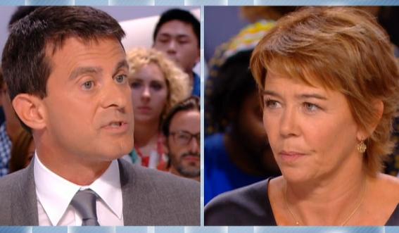 Manuel Valls face à Hélène Jouan !