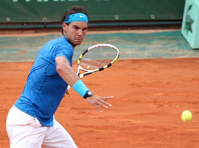 Rafael Nadal donne du fil à retordre à son adversaire