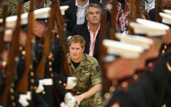 Le Prince Harry lors des Warrior Games 2013