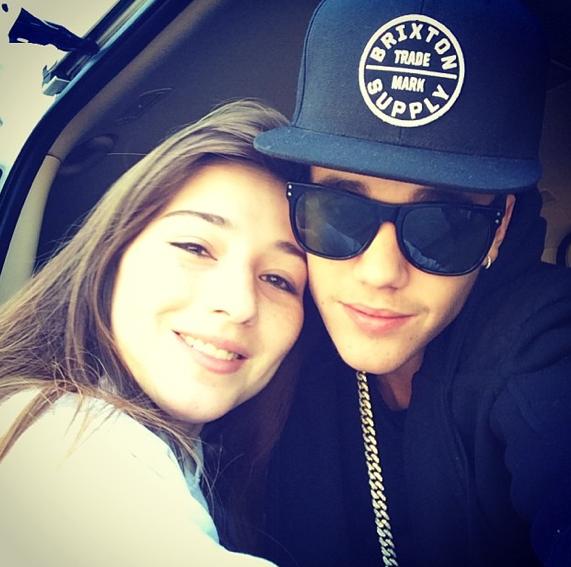 Le selfie partagé façon Justin Bieber !