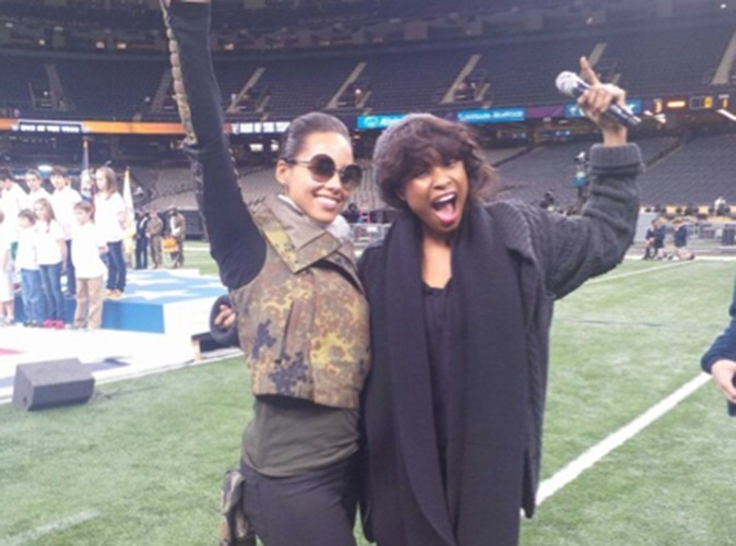 Alicia Keys et Jennifer Hudson !