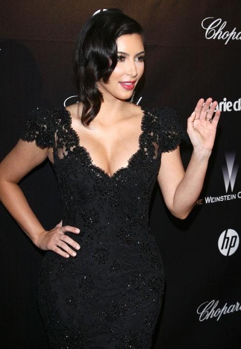 9- Kim Kardashian