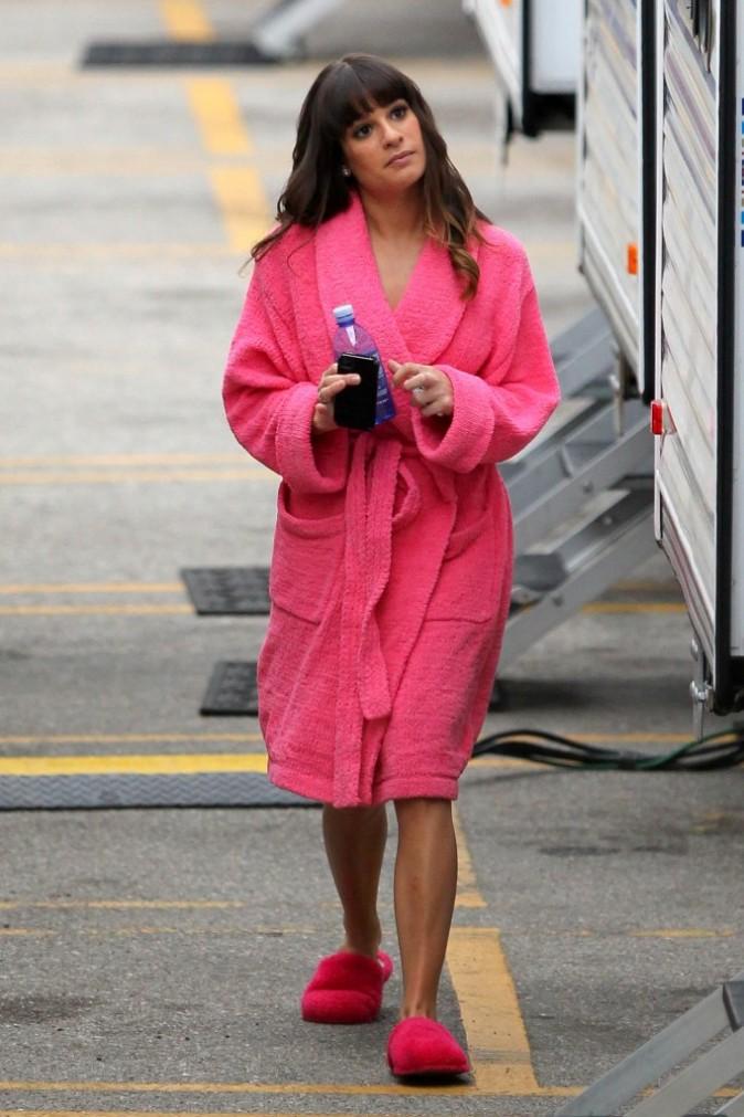 Lea Michele le 12 décembre 2012 à Los Angeles