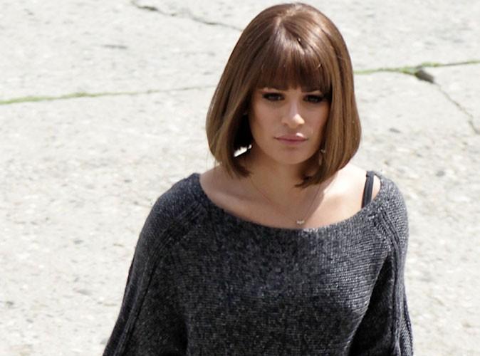 Lea Michele : elle passe au carré sur le tournage de Glee !