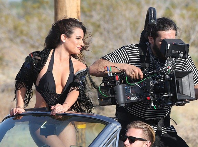 Lea Michele à Los Angeles le 19 avril 2014