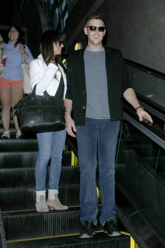 Lea Michele et Cory Monteith le 20 juin 2013 à Los Angeles
