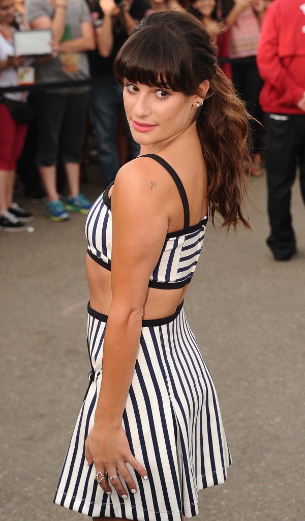 Lea Michele le 12 juillet 2015