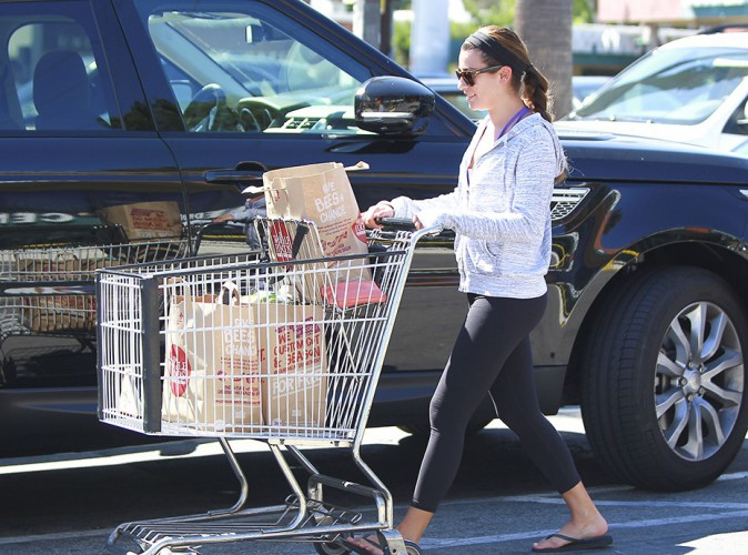 Lea Michele à Los Angeles le 17 août 2014