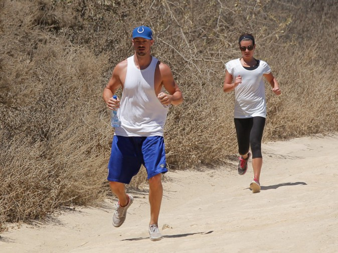 Photos : Lea Michele et Matthew Paetz : nouvelle randonnée du bonheur pour les amoureux complices !