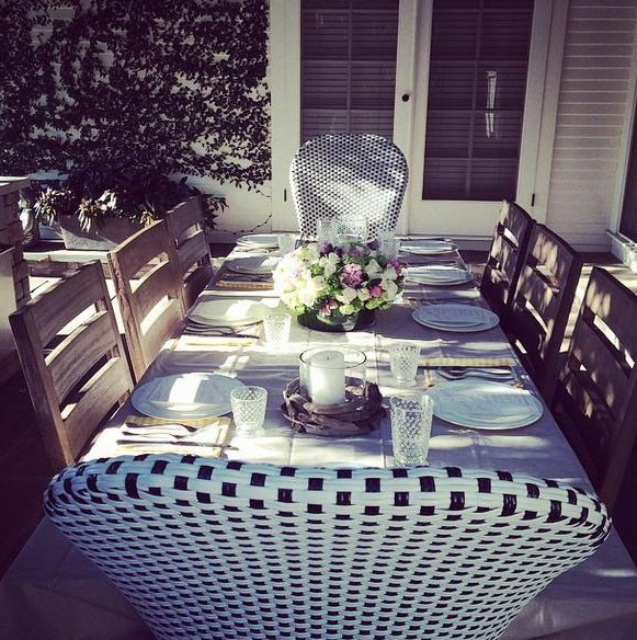 Une jolie table...