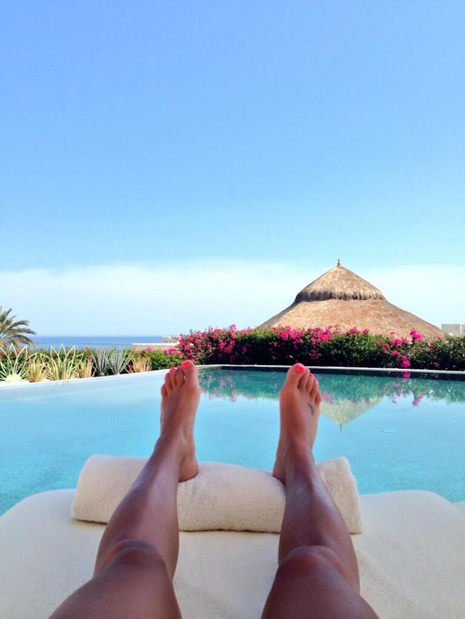 Break de rêve au Mexique pour Lea Michele !
