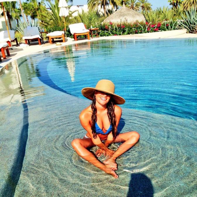 Lea Michele au paradis ? Non, à San Cabo !
