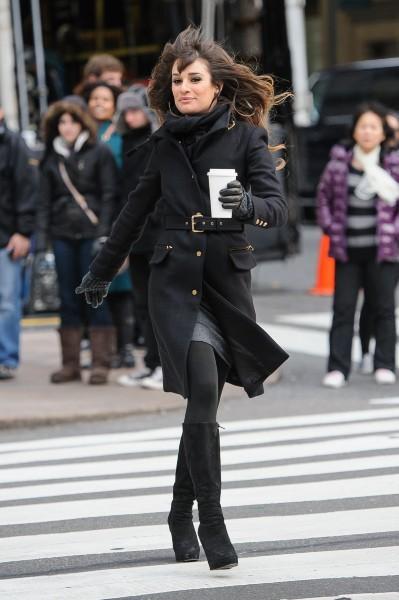 Lea Michele le 18 novembre 2012 à New York