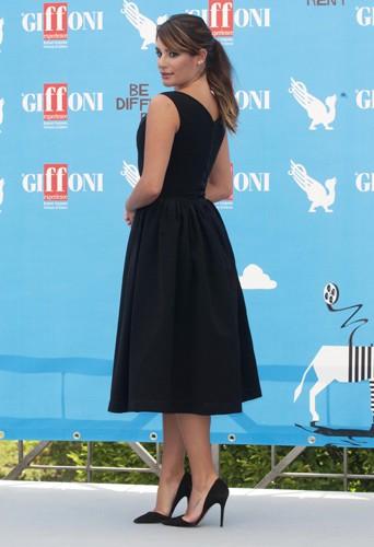 Lea Michele à Giffoni le 20 juillet 2014