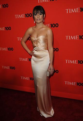 Lea Michele à la soirée Time en mai 2010