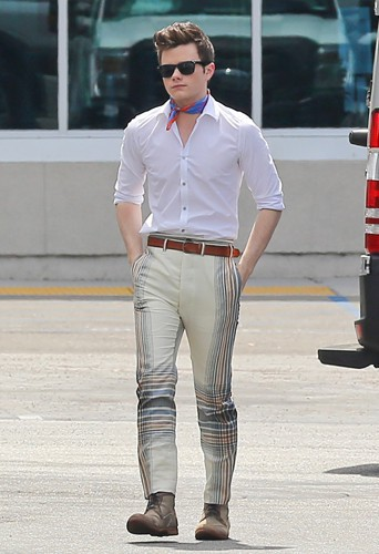 Chris Colfer à Los Angeles le 1er mai 2014