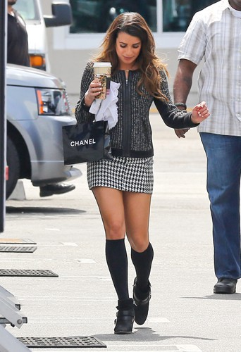 Lea Michele à Los Angeles le 1er mai 2014