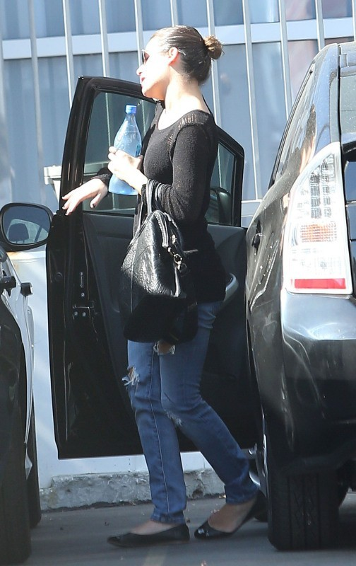 Lea Michele le 19 octobre 2012 à Los Angeles