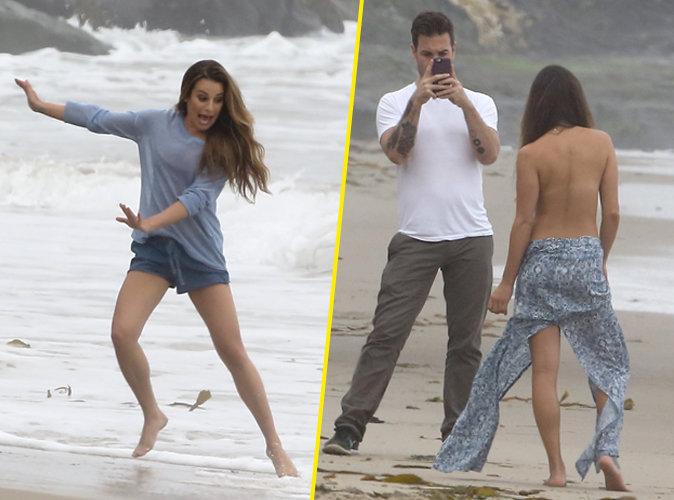Lea Michele : sexy et sauvage pour une séance topless !