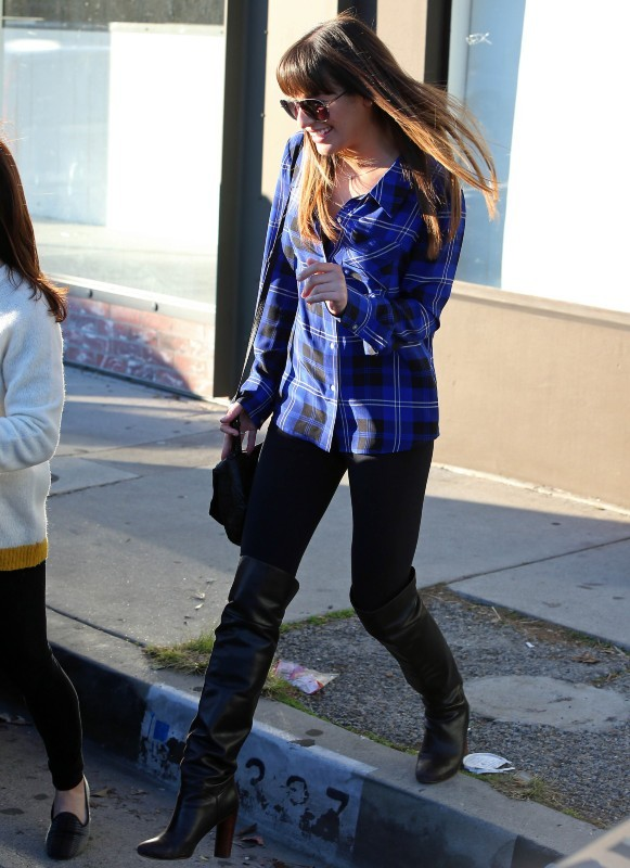 Lea Michele à West Hollywood, le 27 décembre 2012.