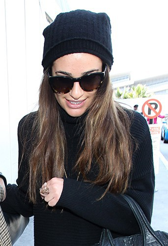 Lea Michele à Los Angeles le 6 mars 2014