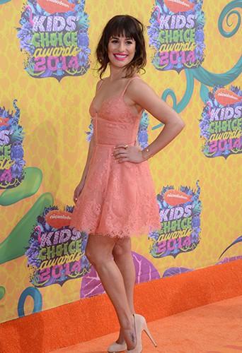Lea Michele à Los Angeles le 29 mars 2014