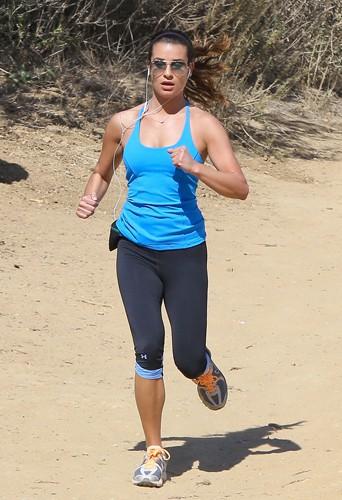 Lea Michele à Los Angeles le 13 février 2014