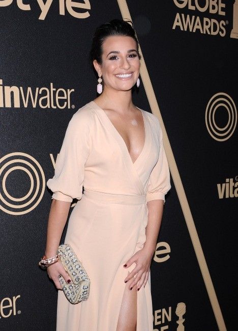 Lea Michele lors de la soirée Miss Golden Globe 2013 à West Hollywood, le 29 novembre 2012.