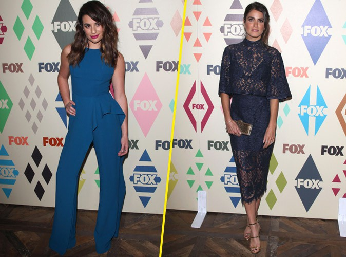 Lea Michele VS Nikki Reed : duel de brunes en bleu sur red carpet !