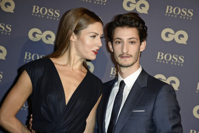 Natasha Andrews et Pierre Niney