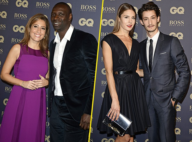 Photos : Léa Salamé et Omar Sy : duo complice à la soirée GQ, face à Pierre Niney et Natasha in love !