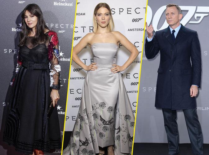 Monica Bellucci, Léa Seydoux, Daniel Craig... Une soirée et trois avant-premières mémorables !