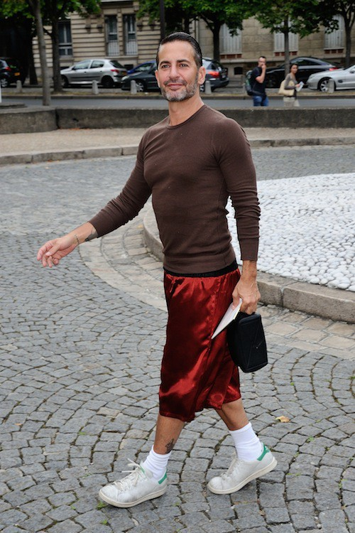 Marc Jacobs au défilé Croisière Miu Miu le 5 juillet 2014