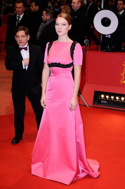 Léa Seydoux lors de l'inauguration de la 64e Berlinale, le 6 février 2014.