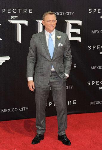 Daniel Craig à l'avant-première de Spectre à Mexico, le 2 novembre 2015